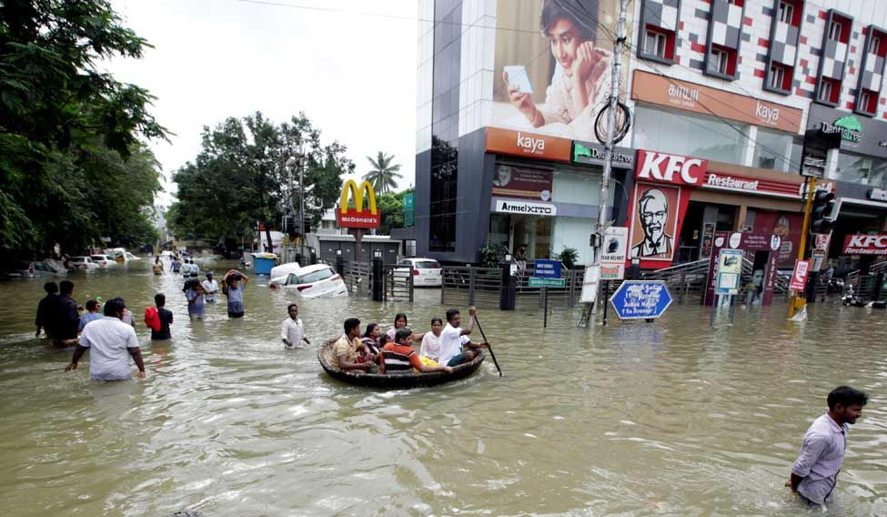 INDIA-DISASTER-FLOODS