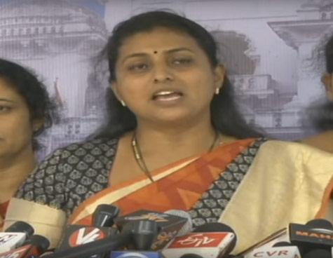 Hyderabad HC quashes YSRCP MLA Roja's suspension