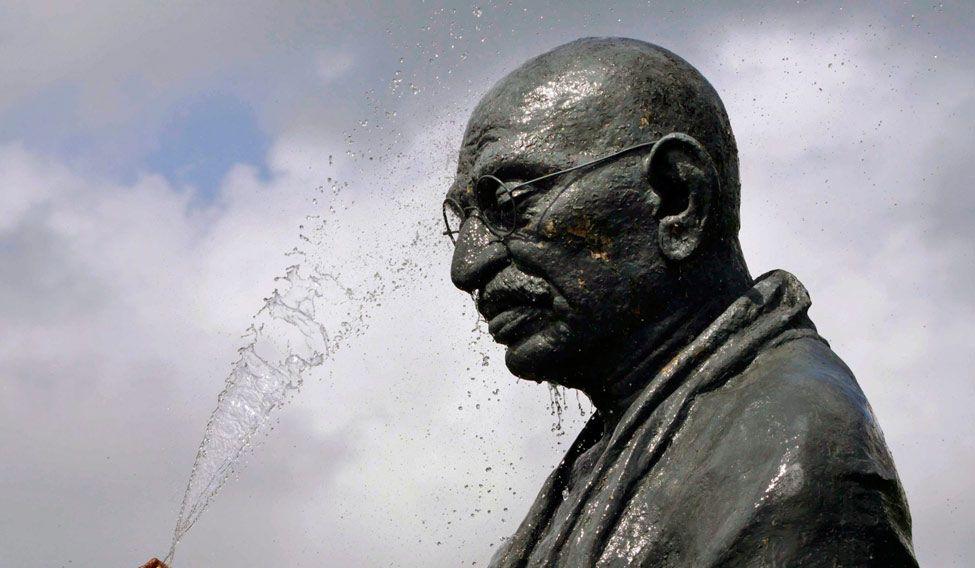 APTOPIX India Gandhi Anniversary