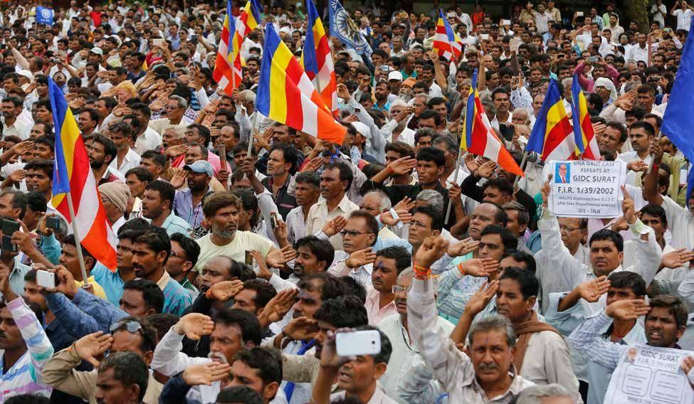 India Caste Protests