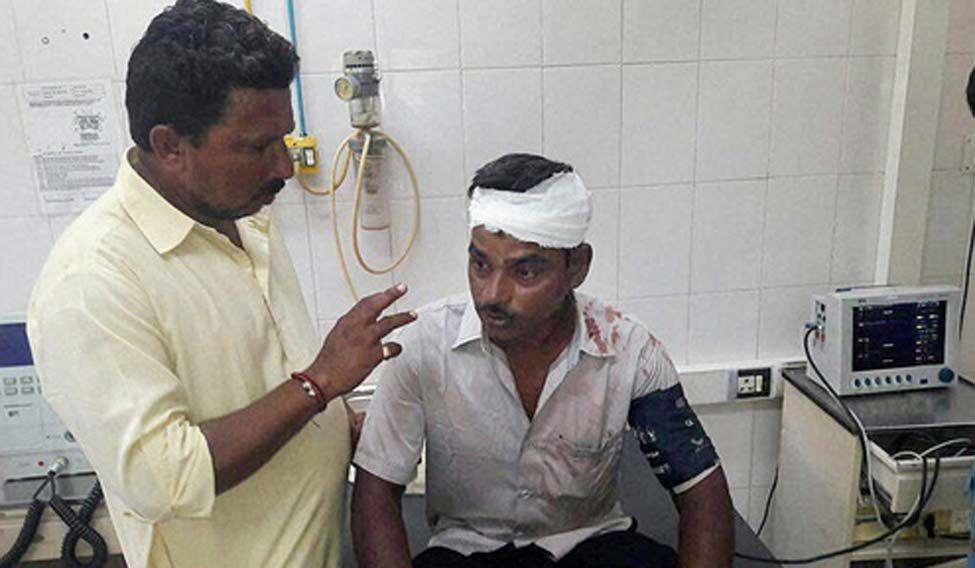 Injured-dalit