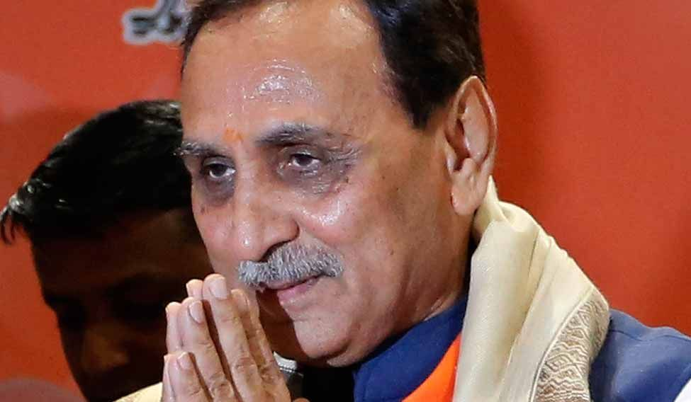 Vijay Rupani faces Patidar anger as Nitin Patel stays away