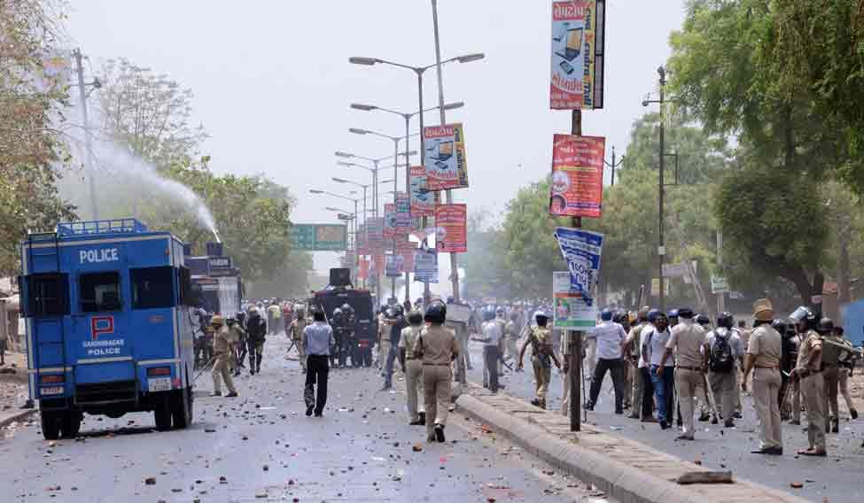 INDIA-POLITICS-UNREST