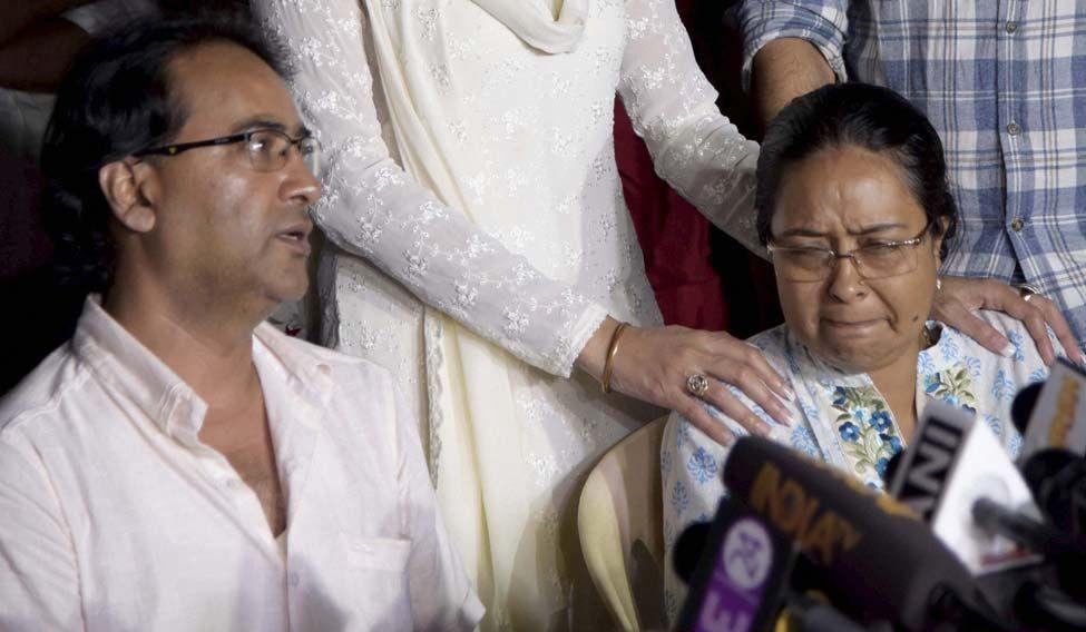 Pratyusha-Banerjee-family