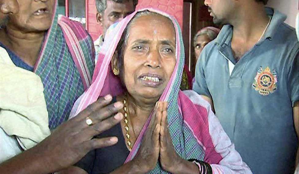 Hanumanthappa-Mother
