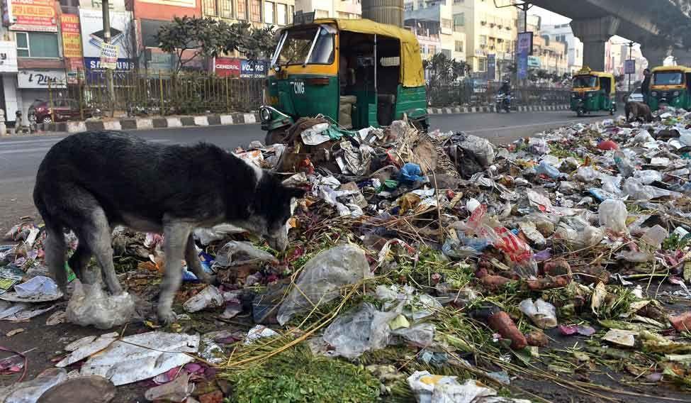 INDIA-LABOUR-STRIKE-POLLUTION