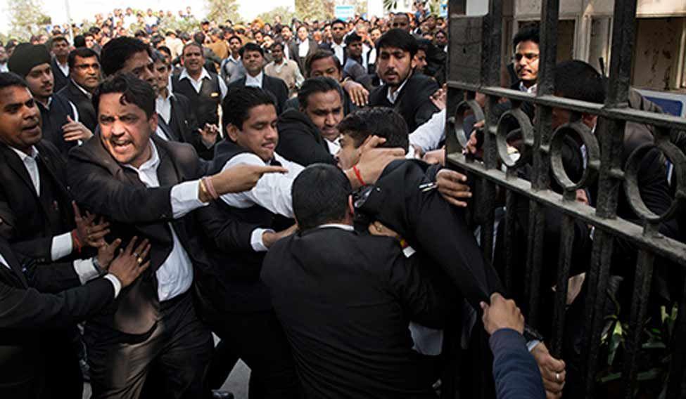 APTOPIX India Student Protests