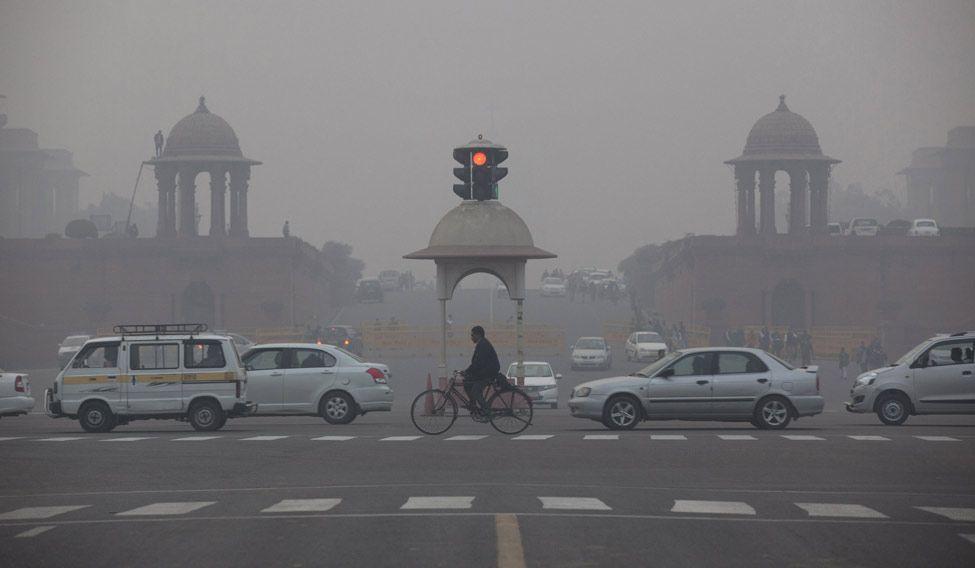 Delhi-Fog