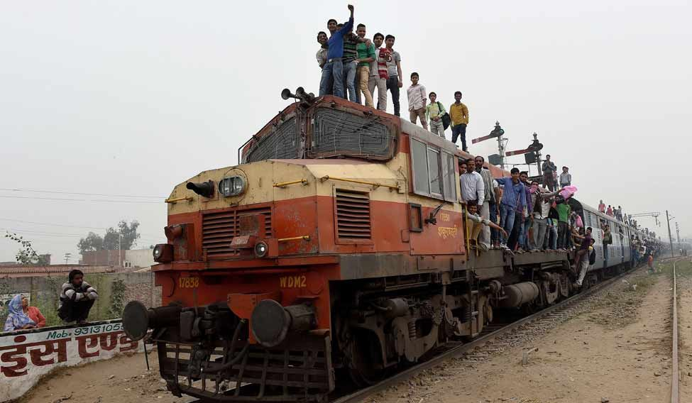 Railway-Crowded