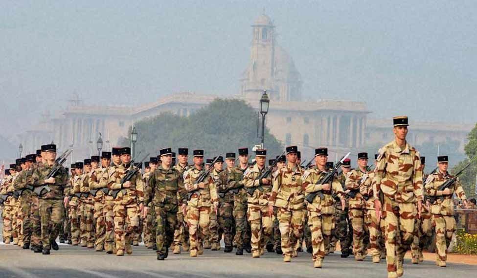 Republic-Day-French-conting