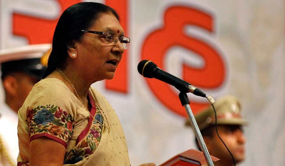 Former Gujarat CM Anandiben Patel is now MP Guv