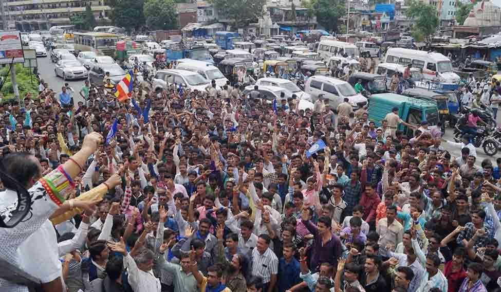 dalit-gujarat-bandh