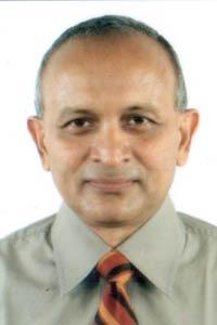 Retired air vice marshal Mohan John