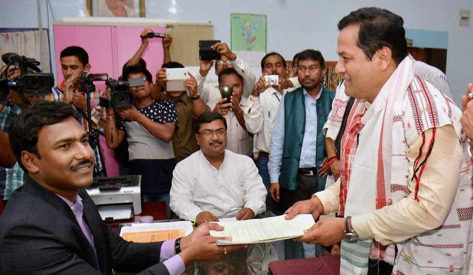 BJP-Sonowal-Assam