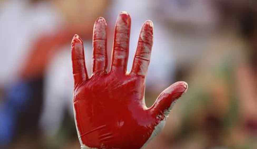 bloody-hand