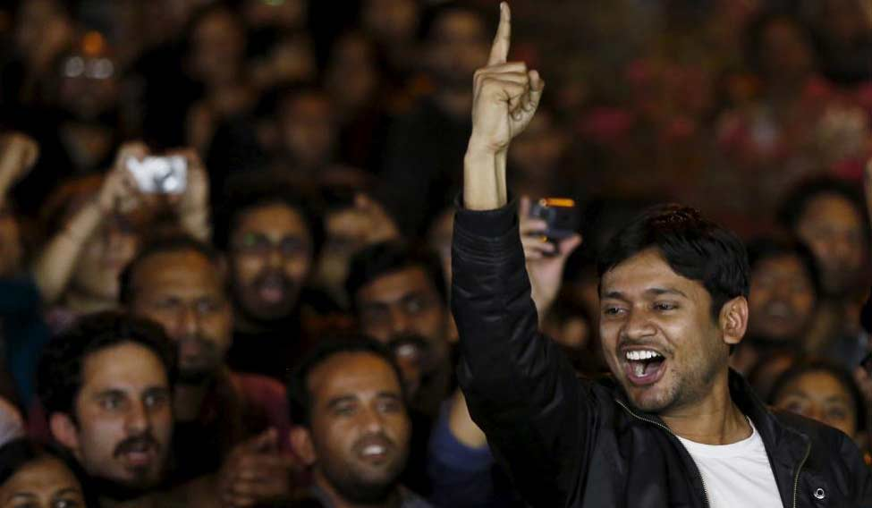 Delhi Police filed its charge-sheet against former JNUSU president Kanhaiya Kumar and others in a sedition case lodged in 2016 | Reuters