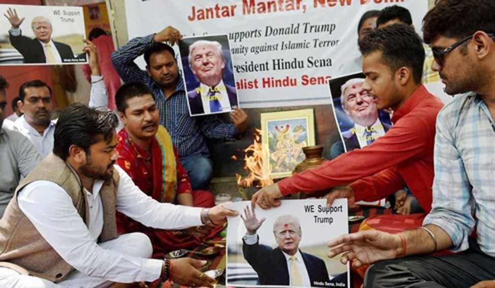 Hindu-sena-trump