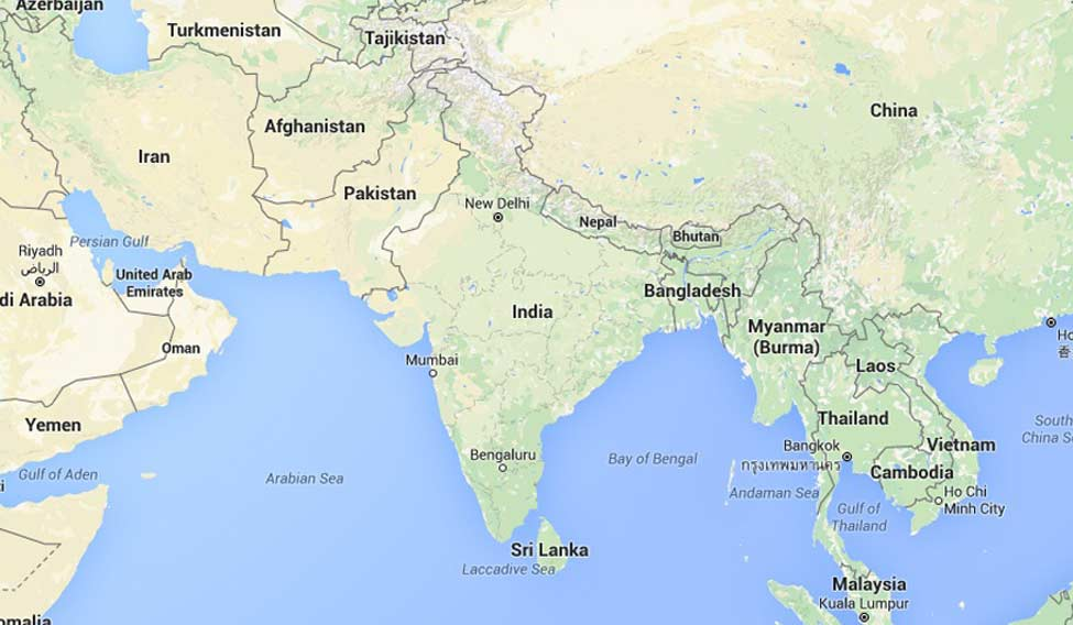 india map google search