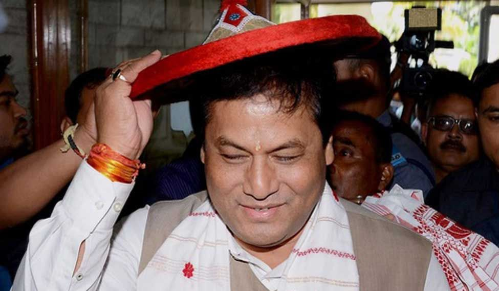 Sonowal sworn in as Assam chief minister