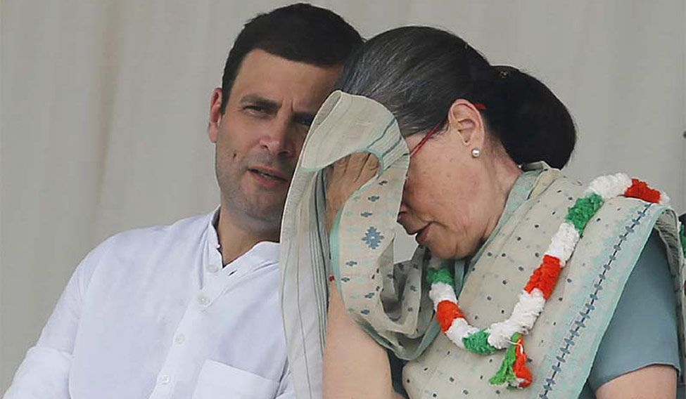Poll debacle: We'll introspect, say Rahul, Sonia; Congress leaders call for 'major surgery'