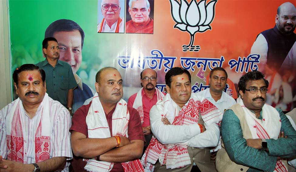 Sonowal to take oath as Assam CM on Tuesday