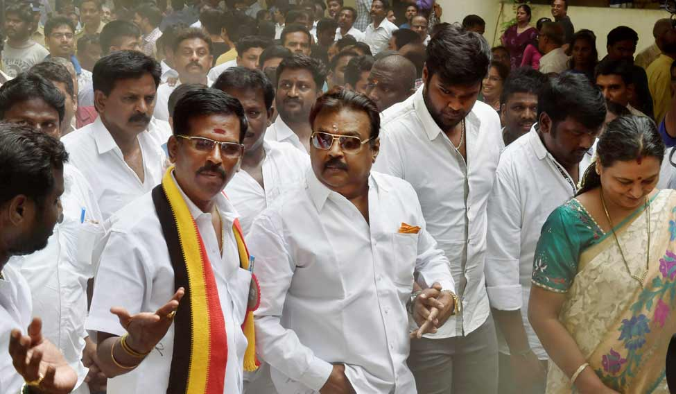 DMDK to lose recognition after election drubbing