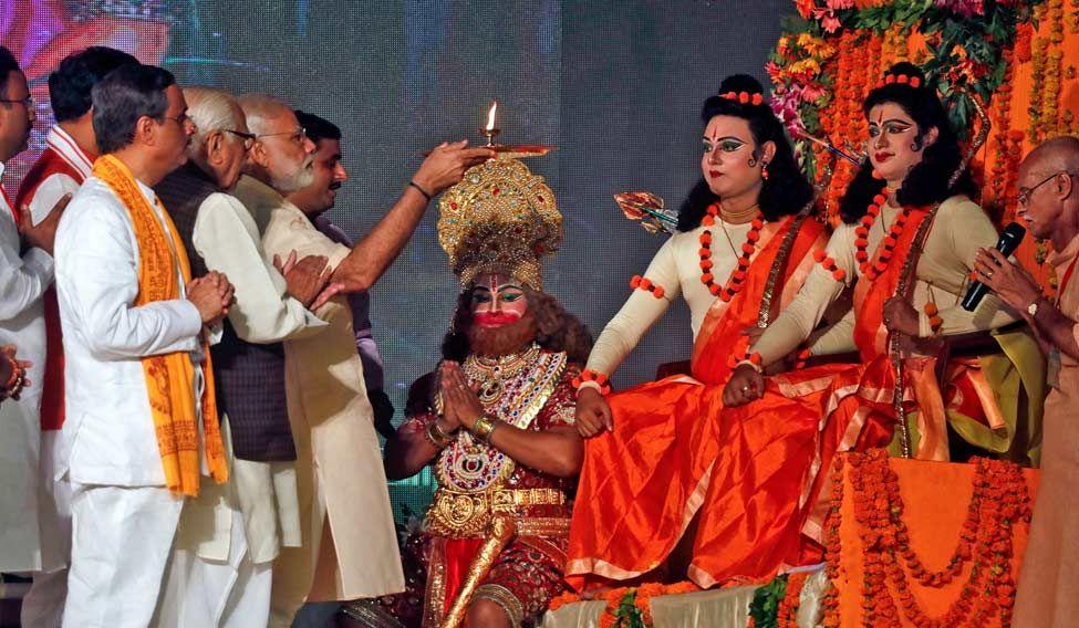 INDIA-RELIGION/DUSSEHRA