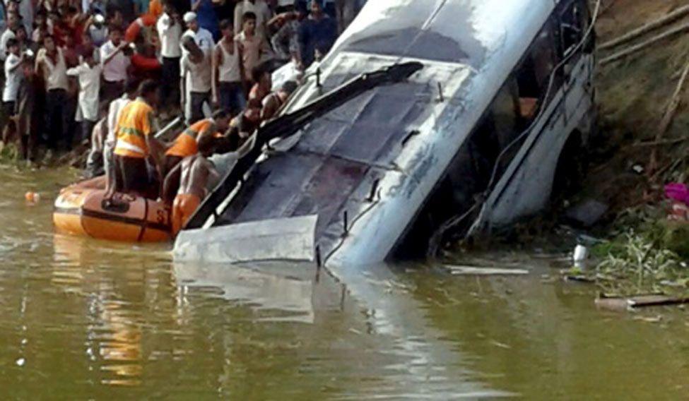 32 killed in a bus mishap in Madhubani