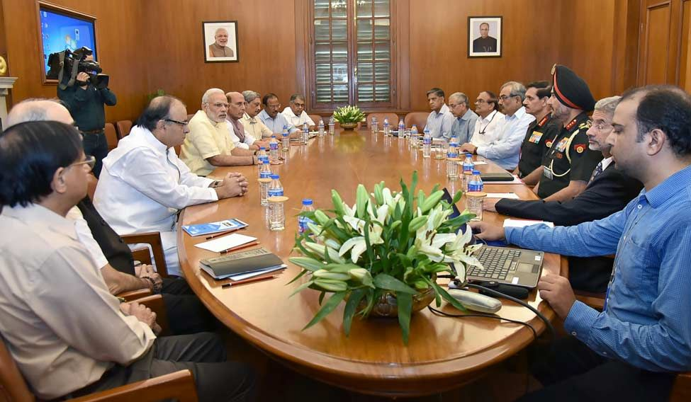 PM Modi chairs CCS meeting on LoC situation