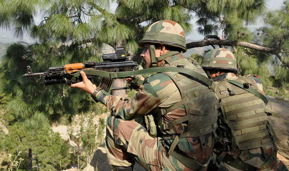 The Indian Army responded to the enemy fire in a befitting manner, officials said | PTI