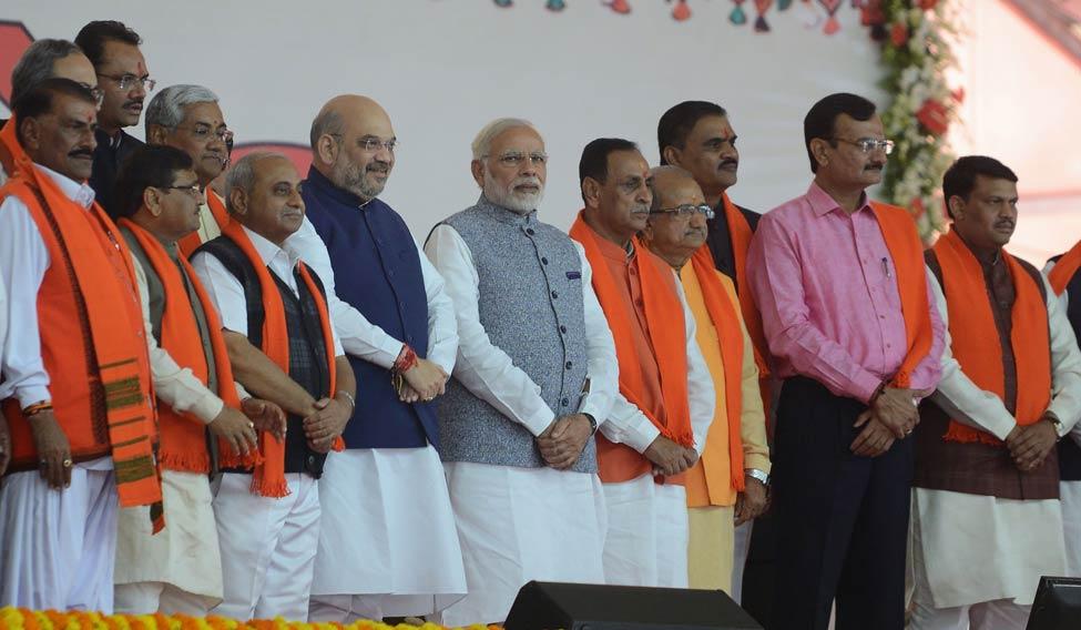 Rupani balances caste, regional equations in new cabinet