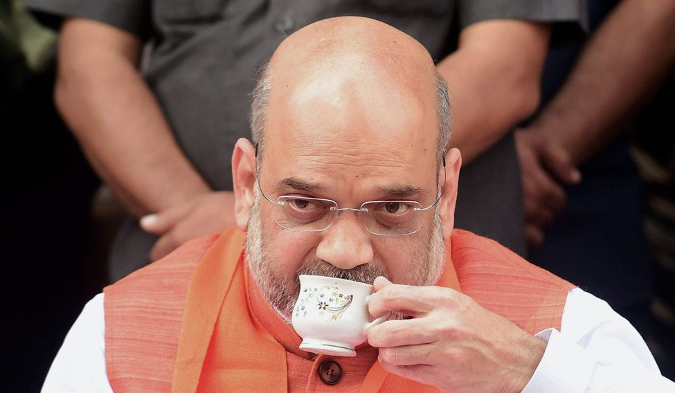 BJP govt handled the Kashmir issue very well: Amit Shah