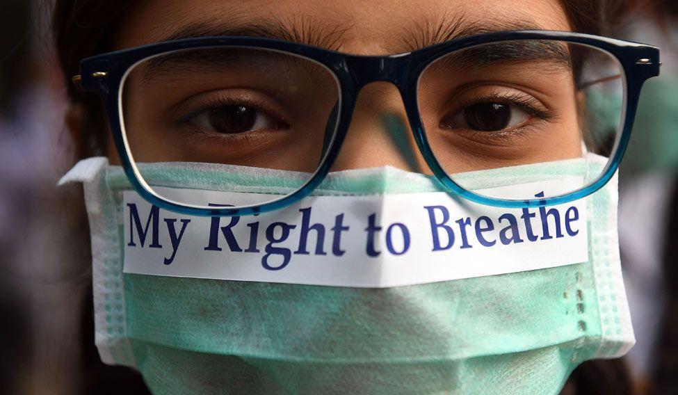 INDIA-POLLUTION-HEALTH-CHILDREN