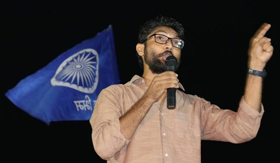 Jignesh Mevani holds conference to clarify speech, condemns violence in Bhima Koregaon