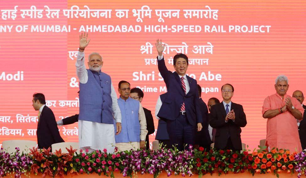 India Japan Abe