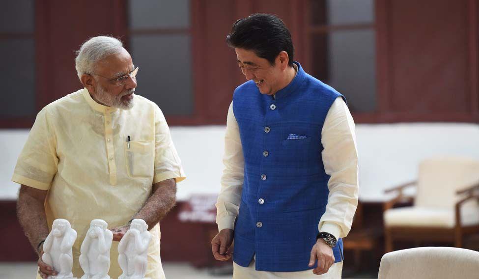 INDIA-JAPAN-POLITICS-DIPLOMACY