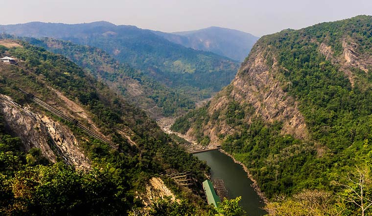 Sharavathi river basin houses three major reservoirs apart from several small check dams and balancing weirs   via Commons