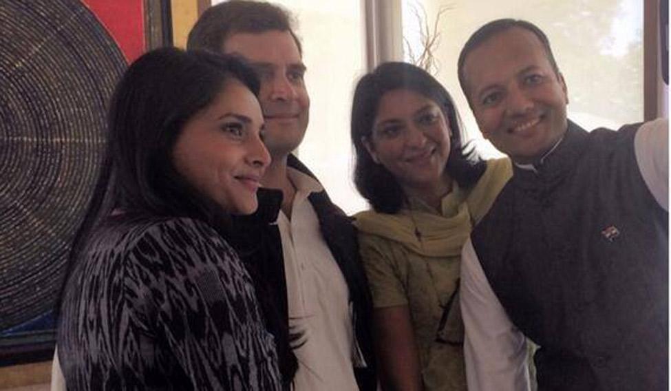 a movie star is transforming rahul leading congs social