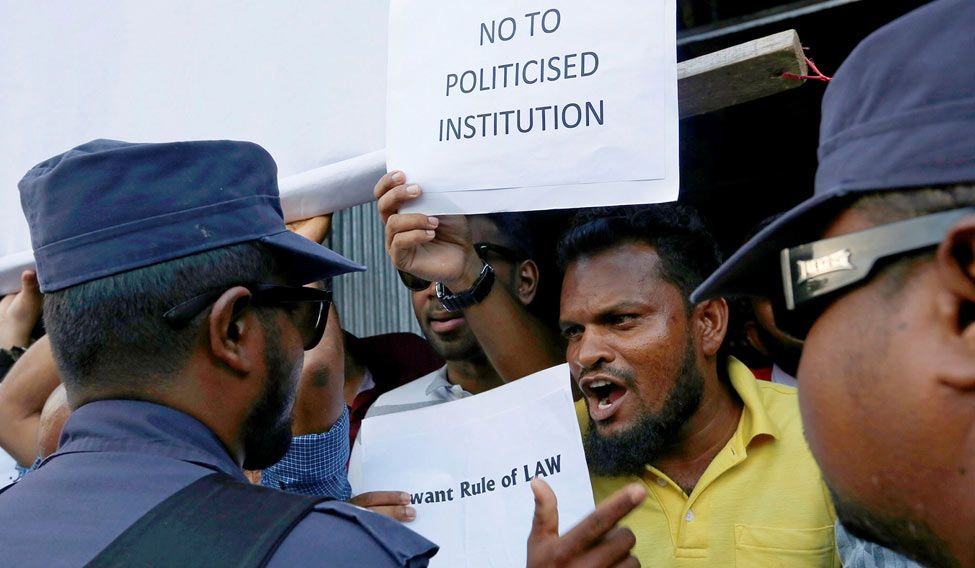 Ascertaining particulars of Indian nationwide's detention in Maldives