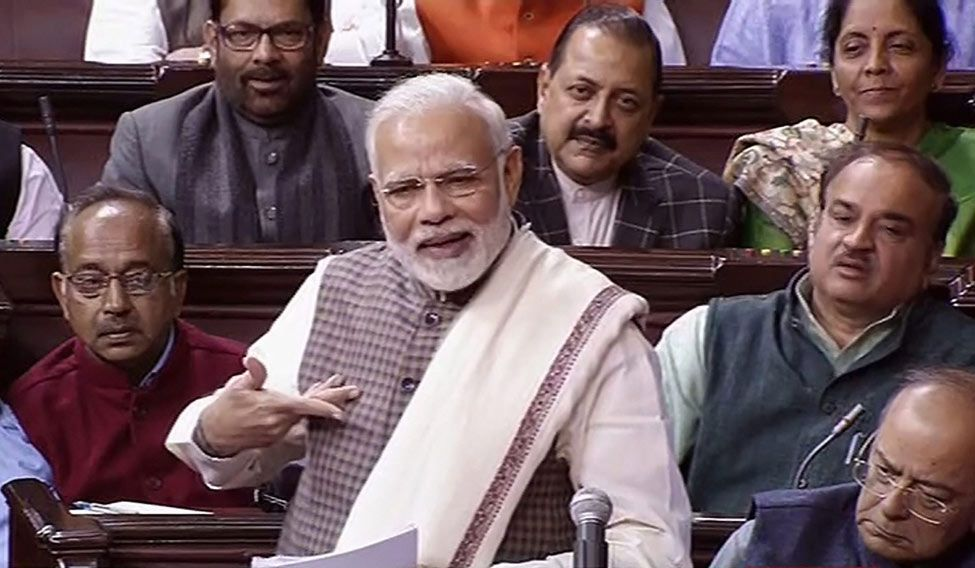 Shiv Sena criticises PM Modi's Lok Sabha speech