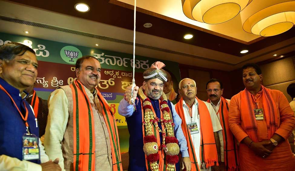 Amit Shah trains gun against 'cleanest' chief minister of India