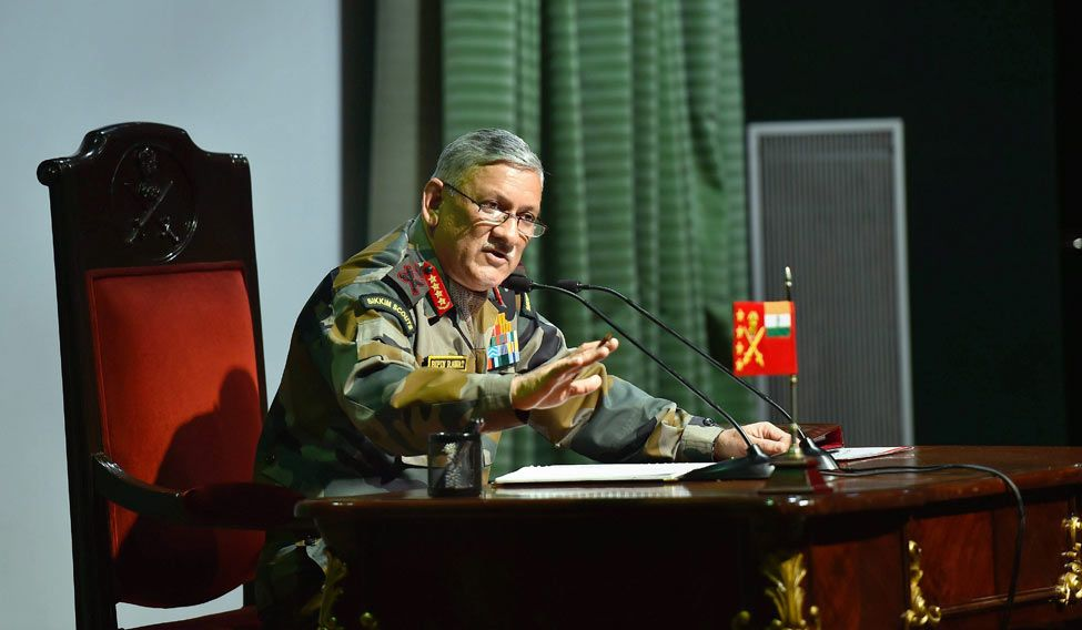 Threat of CBRN weapons becoming a 'reality', says Rawat