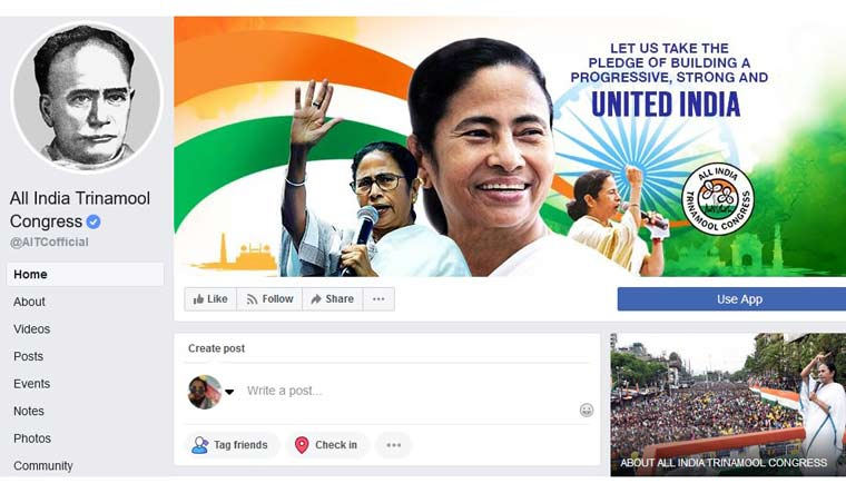 Mamata, TMC leaders put Vidyasagar's photo as Twitter, FB display picture
