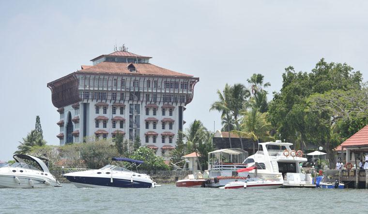 Cochin-port-trust-office-building