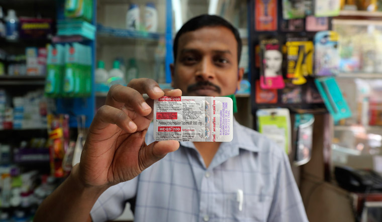 Virus Outbreak India Malaria Drug