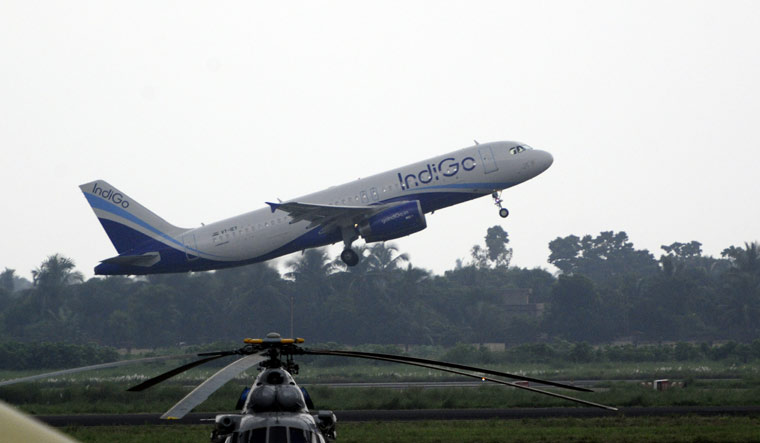 indigo take off salil