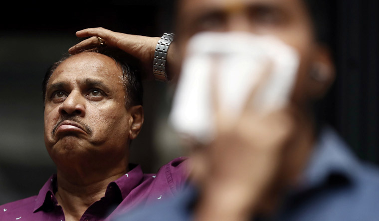 Sensex plunges 600 points; Nifty cracks below 11,750