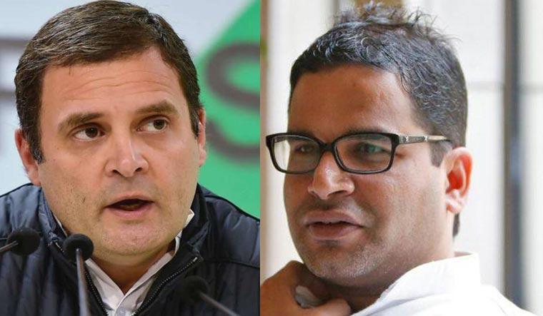 Rahul Gandhi and Prashant Kishor