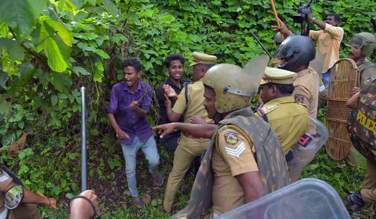 Crackdown in Nillakal