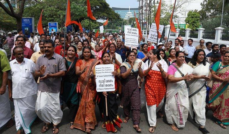 Sabarimala protest